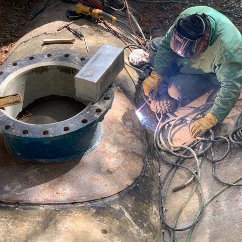 Low Service 66″ Steel Watermain